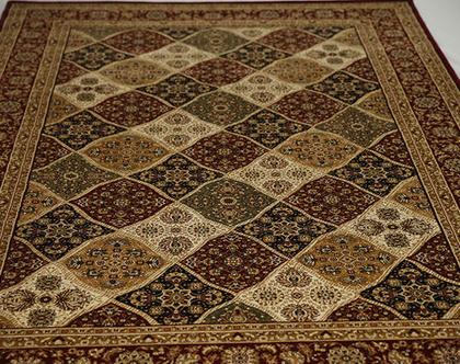 שטיח קלאסי מכותנה | גדלים לבחירה | שטיח לסלון | *** השילוח חינם ***