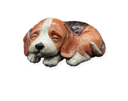 פסל נוי -כלב ביגל