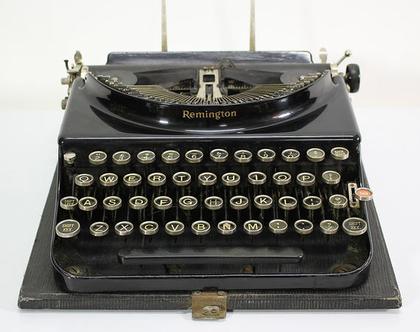 מכונת כתיבה אנגלית משנות השלושים, מכונת כתיבה רמינגטון ניידת
