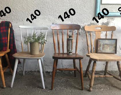 כיסאות וינטג' (מחיר מעל כל כיסא)