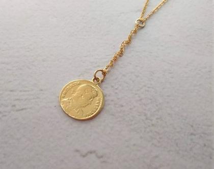 שרשרת מטבע מגולדפילד , תכשיט עם מטבע