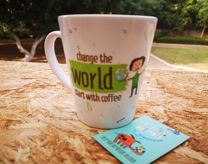 Change the world - ספל