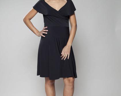 שמלת מידי רומטית, שמלת להריון והנקה, שמלת פעמון, שמלת מעטפת