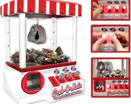 מכונה אישית לזכיית ממתקים בובות או מוצרים