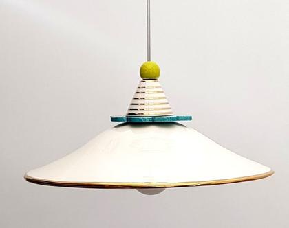 גוף תאורה מקרמיקה - מתקבלות הזמנות - נקודות זהב - גוף תאורה לפינת אוכל - מנורה לפינת אוכל - מנורה מיוחדת - גוף תאורה מיוחד - מנורה צבעונית