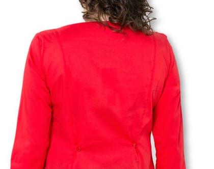 חולצה Linea באדום