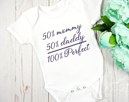 """בגד גוף לתינוק """"Perfect"""" בעיצוב אישי"""