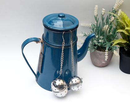 קומקום תה , קומקום מפח, קומקום כחול