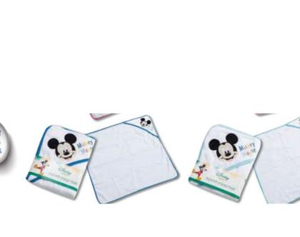 מגבת תינוקות קפוצון - מיקי