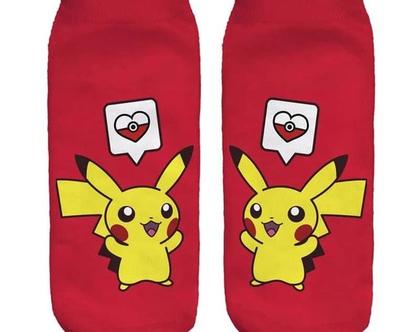 גרבי פוקמון / גרביים מיוחדות / גרביים מצויירות