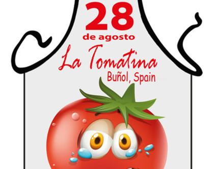סינר מתנה | סינר חגיגי | סינר מודפס - ספרד 2