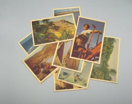 9 גלויות וינטג' של ישראל