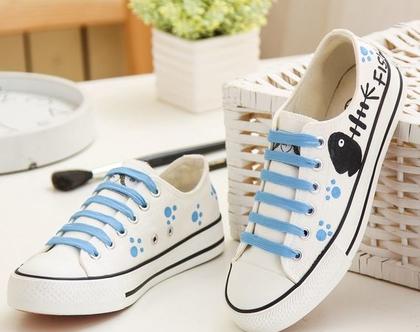 סניקרס לנשים חתול תכלת , נעלי בנות, סניקרס לנערות, נעליים לאימהות, דגם חתול (מידה 35 מתאים למידות 33-34 ישראליות)