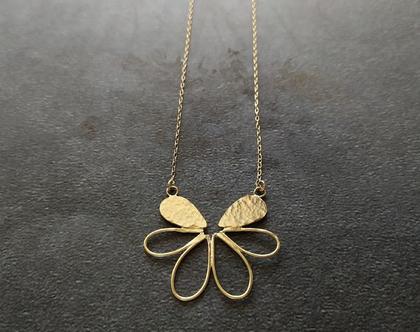 שרשרת פרח זהב