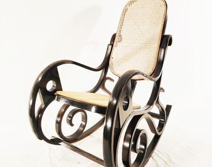 כסא נדנדה ישן