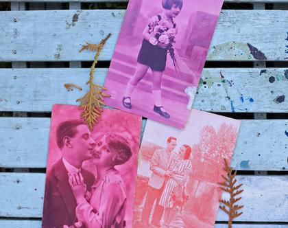 גלויה וינטאג'. איורי וינטאג'. גלויות עתיקות. גלויה מצולמת. זוג רומנטי. וינטאג' צרפתי. אספנות וינטאג'. גלויה רומנטית. גלויות וינטאג' צרפתיות.