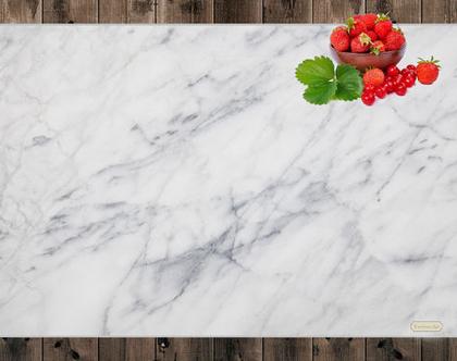 פלייסמט Marble texture | פלייסמט גדול 40X30 סמ | פלייסמט דמוי שיש