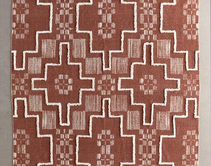 שטיח בוהו בגוון ברונזה