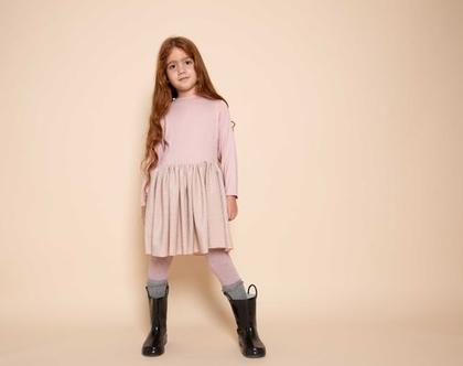 שמלת לילדה לאירועים, שמלת ורוניק ורוד לורקס