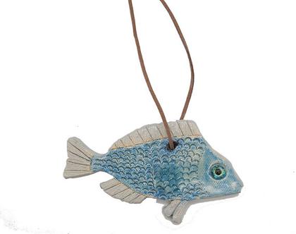 דג נוי בינוני לתליה