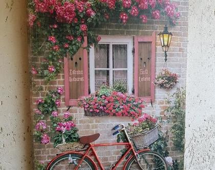 תמונת תבליט אופניים