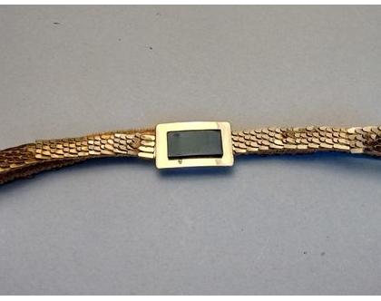 חגורת מותן זהב וינטג' לאישה | חגורת מותן דקה קשקשים בזהב