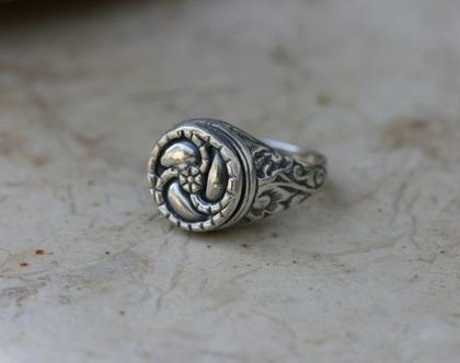 טבעת כסף, טבעת חותם, טבעת לאישה, טבעת לגבר