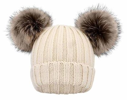 כובעים מצמר לילדים בנים/בנות גילאים 2-6 שנים בשלל צבעים לבחירה