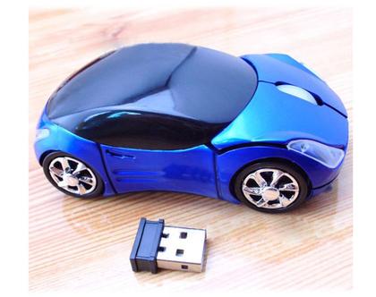 עכבר אופטי אלחוטי מעוצב | עכבר למחשב | עכבר מחשב בצורת מכונית | גאדג'ט למחשב | מתנות לגברים |