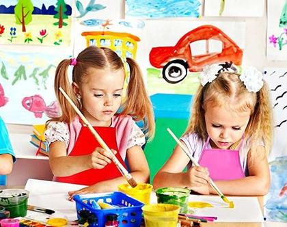 סט 24 סינרים לילדים בנים ובנות 12 צבעים איכות מעולה לגני ילדים
