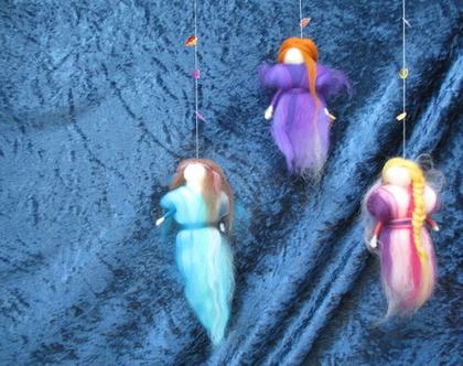 סדנת ליבוד - הכנת מובייל פיות - יצירה - מלאכות קדומות - בסטודיו בבנימינה