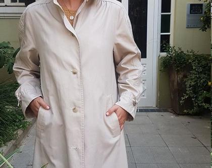 מעיל טרנץ', מעיל ארוך, מעיל לנשים, מעיל קלאסי, מעיל עם כיסים, מעיל לחורף, ג'קט חורפי, ג'קט עד מתחת לברך, מעיל עם צווארון
