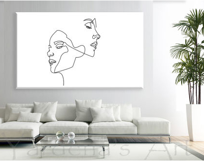 תמונת קנבס | Minimalist style| תמונה שחור לבן | תמונה לסלון | תמונה בעיצוב מינימליסטי | עיצובים לבית