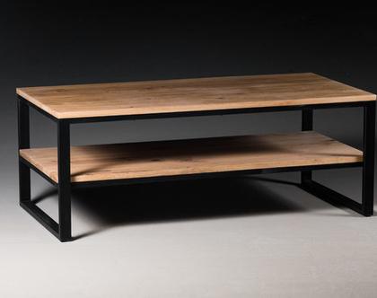 שולחן סלון אלון מלא