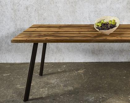 שולחן אוכל | עץ ממוחזר | פינת אוכל