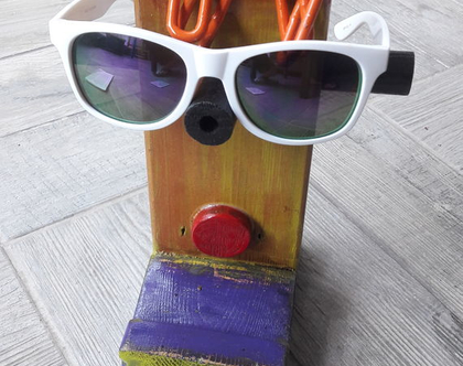 מעמד למשקפיים | מתקן למשקפיים וטלפון |