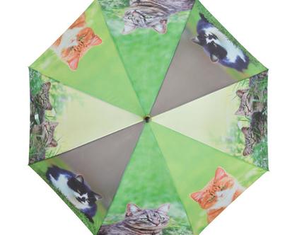 TP246 | מטרית חתולים | מטרייה מעוצבת | מתנה מקורית | מתנה ייחודית | חורף חם