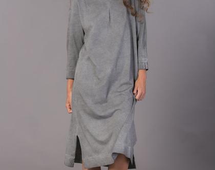 simpie love | שמלה אפורה