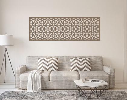 דקורציה לקיר משרביה דגם BOTANICA