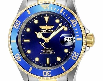 שעון מקורי לגבר Invicta 8928OB Pro משולב אווטומטי מהמם ביופיו