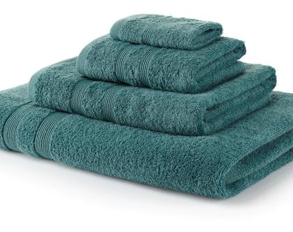"""מגבת גוף 100% כותנה מיצרית (600 גרם למ""""ר) - צבע ירוק"""