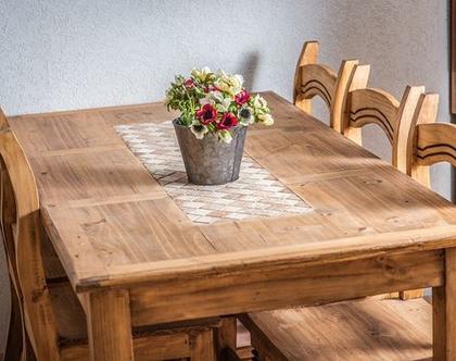 שולחן מקסיקני כיסאות מקסיקנים