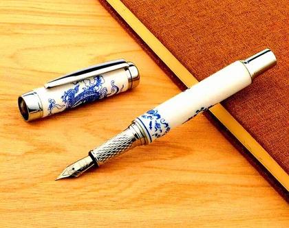 עט נובע | עט חרוטה | עט כחול לבן | עט מחרסינה | מתנה לגבר | מתנה לאישה | מתנה למשרד