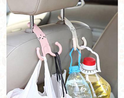 זוג ווי תלייה לרכב | גאדג'ט לרכב | מתנה מקורית | מתנה שימושית |