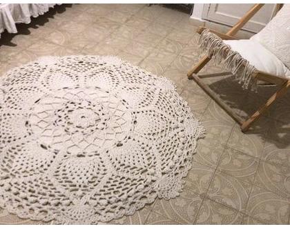 שטיח בהזמנה/ שטיח סרוג / שטיח עגול/ שטיח עבה/ שטיח כותנה