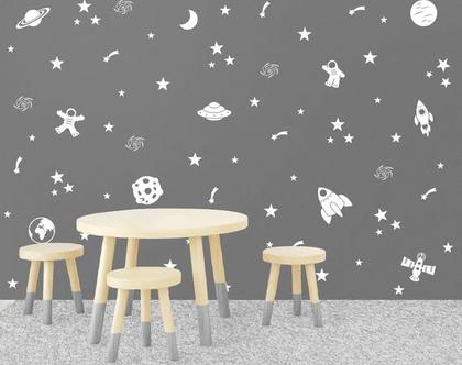 מדבקות קיר חלל | מדבקות קיר לחדר ילדים חלל | מדבקות קיר חלל החיצון | מדבקות חלל | מדבקות חלל לקיר | מדבקות חלליות | מדבקות קיר חללית