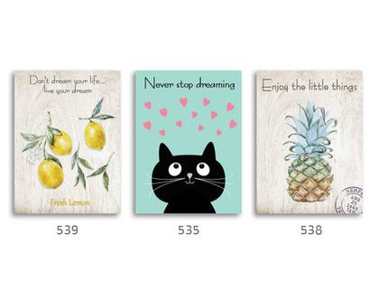 סט של 3 תמונות השראה מעוצבות לתינוקות, לסלון, חדר שינה, מטבח, ילדים