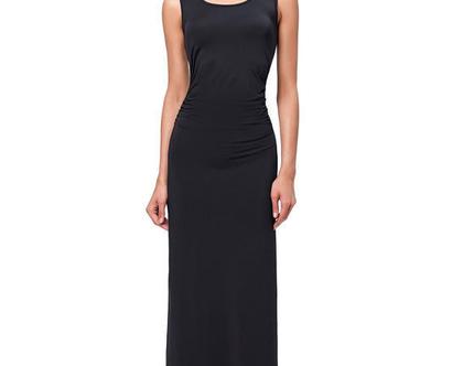 שמלת מקסי / שמלה שחורה