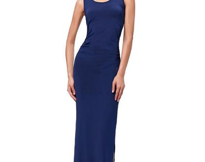 שמלת מקסי / שמלה כחולה
