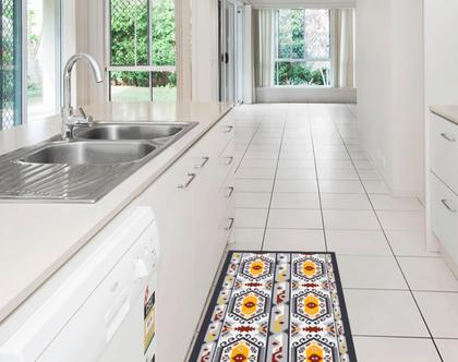 שטיח pvc למטבח | שטיח למטבח | שטיח pvc מעוצב | שטיח pvc לכניסה | שטיח פי וי סי (1044)